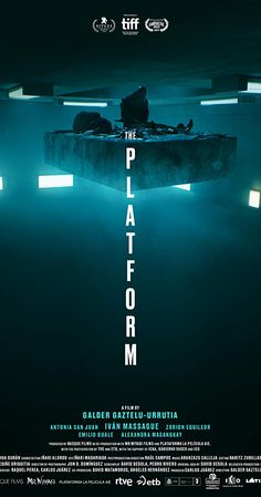 the platform movie - Best Movies Now, Best Horror Movies, Movies To Watch, Good Movies, Series Movies, Film Movie, Quarantine Movie, Netflix Horror, Bad Education