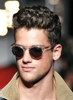 Curly Hairstyles For Men | Beautiful