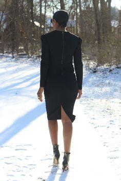 DIY wool zipper dress – Beaute' J'adore