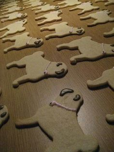 Yes! Pug cookies:)