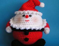 Little Santa PDF crochet pattern by Fjukten on Etsy