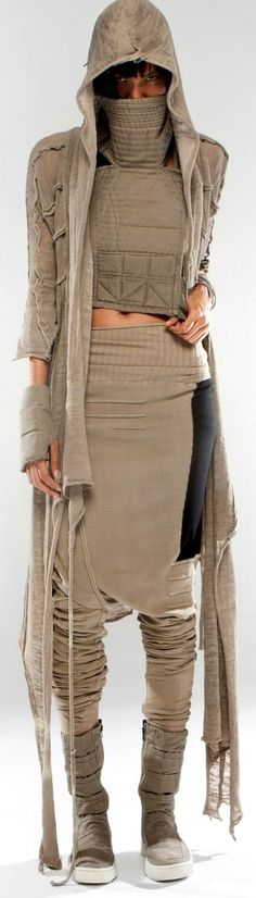 """look at skirt - inspiration (but not the """"back in"""" part at the bottom) make out of old hoodies/stretch cotton tops or top of textured yoga pants for waist band part"""