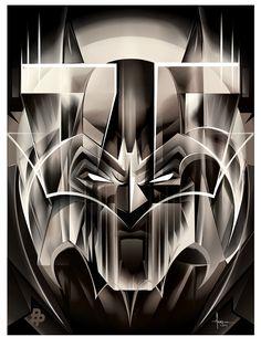 The Face of Gotham by Orlando Arocena