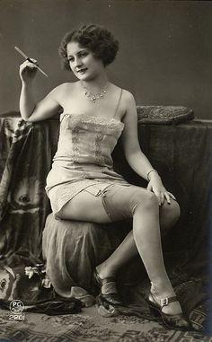 photo vintage Flapper free