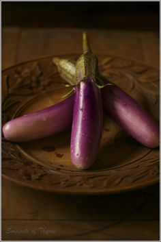 Tried these for the first time.Delightful.I think they're called Japanese eggplants