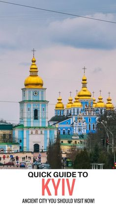 Visiting #Kyiv on a weekend? Check out this quick #Kiev guide created by a local! Best things to see and places to stay. Kyiv Ukraine travel, Kiev