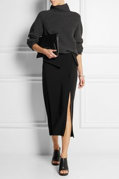 Dion Lee|Crepe midi skirt|NET-A-PORTER.COM | $430