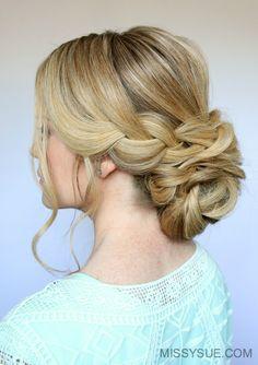 bridal-low-bun-hairstyle