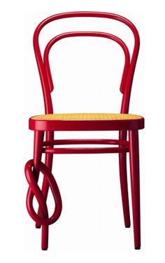 Thonet #red #chair @Thonet GmbH