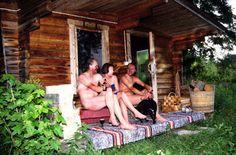 Saunas Filandesas una caracteristica de Finlandia