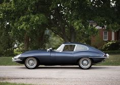 '64 Jaguar E-Type Series 1 3.8-Litre Fixed Head Coupe