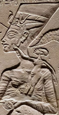 Nefertiti ruled alongside Akhenated during the 18th dynasty (1550-1292 BC)