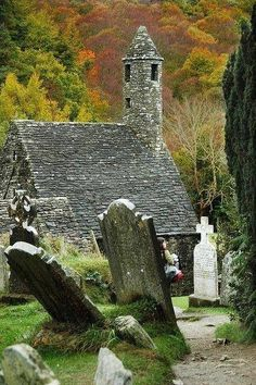 Old cemetery churchyard