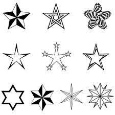 Estrellas formas