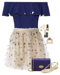 """""""Unbenannt #3027"""" by cora97 ❤ liked on Polyvore featuring Lisa Marie Fernandez, Valentino, Kate Spade, Bloomingdale's, Mulberry, BCBGeneration, MAC Cosmetics, Christian Dior and OPI"""