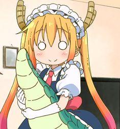 kobayashi-san chi no maid dragon, Tohru Anime Ai, Kawaii Anime, Otaku, Chibi, Dragon Icon, Kobayashi San Chi No Maid Dragon, Miss Kobayashi's Dragon Maid, Demon Slayer, Monster Girl