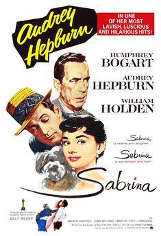 Audrey Hepburn - Sabrina - Romantic Comedy - Home Theater Decor - Movie Poster Print 13x19 - Humphrey Bogart - William Holden by jangoArts on Etsy https://www.etsy.com/listing/161434252/audrey-hepburn-sabrina-romantic-comedy