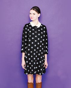 Polka dot dress from Cortesworks!