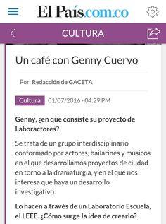 Genny Cuervo Laboractores Cali