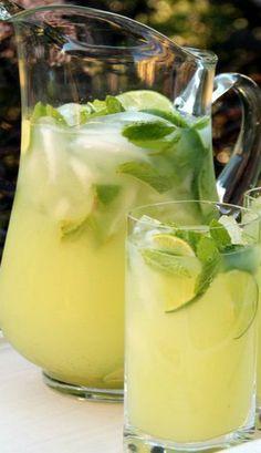 Vodka Mint Lemonade or Limeade