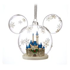Mickey Mouse Fantasyland Castle Ornament, Once upoon a pine, Item No. 7509055890940P $26.99  5'' H x 6'' W x 3 1/2'' D