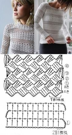 crochet patterns for baby blankets Receitas grátis Easy Knitting Projects, Easy Knitting Patterns, Shawl Patterns, Crochet Projects, Crochet Patterns, Crochet Blouse, Crochet Shawl, Crochet Stitches, Knit Crochet