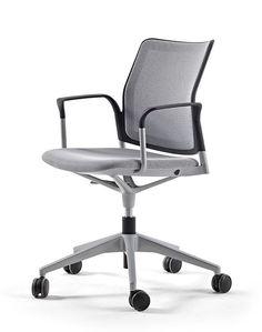 frame grey white frames atu chairs grey mesh h15 bloomberg office chair stand urban actiu furniture