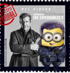 The Expendables 3: Stone Banks  Mel Gibson Minion