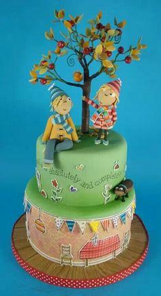 Ooooo, I love this Charlie & Lola cake!