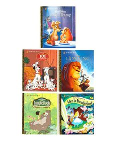Take a look at this Disney Classic Boxed Hardcover Set by Little Golden Books on #zulily today!