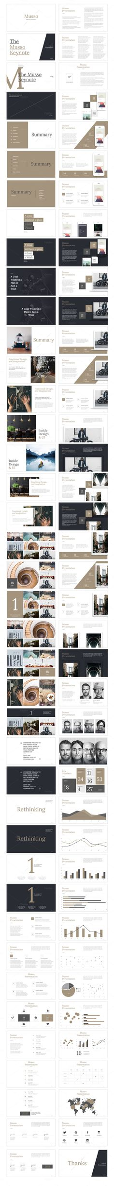 Musso Presentation by MarketMe on @creativemarket