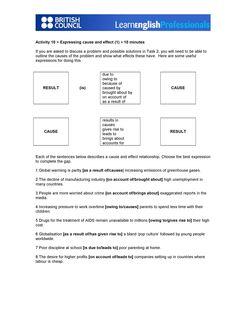 essay sample task 2