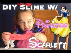 DIY Slime W/ Princess Scarlett - YouTube