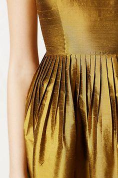 Golden Silk Lille Dress