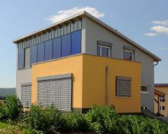 Solarthermie Fassade