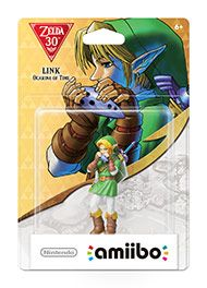 Boxshot: The Legend of Zelda: Ocarina of Time Link amiibo Figure by Nintendo