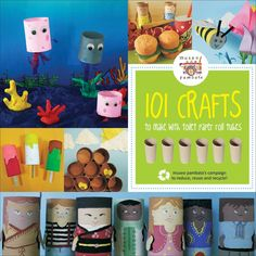 Toilet paper tube crafts, link is broken, but pix can be used for inspiration. Craft Activities For Kids, Preschool Crafts, Projects For Kids, Diy For Kids, Fun Crafts, Craft Projects, Crafts For Kids, Toilet Paper Roll Crafts, Paper Crafts