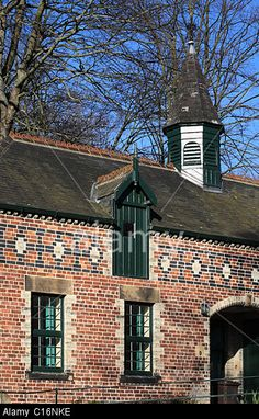 The Highwayman: ~ Detail Of The Victorian Stable Block, Saltwell Park, Gateshead. Blaydon Races, North East England, In The Tree, Horse Breeds, Stables, Barns, Garage, Old Things, House Ideas