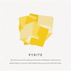 Free Printable Gemstone Guide: Pyrite