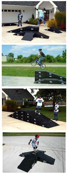 Skateboard Ramps - Bike Ramps - Inline Skate Ramps - LandWave