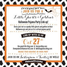 Halloween Pajama Party
