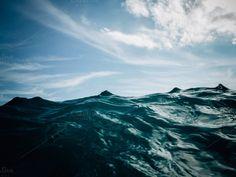 Sea water by OSORIOartist on Creative Market