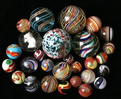 .marbles used to be glass