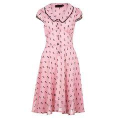 Voodoo Vixen Phoebe Dress (Pink)