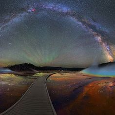 The Milky Way Over Yellowstone Will Take Your Breath Away!