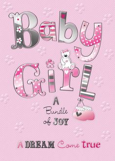 Quotes born baby girl birth of a baby girl quality embossed congratulations card blessing quotes for New Baby Quotes, Baby Girl Quotes, Newborn Quotes, Nana Quotes, Sweet Quotes, Baby Girl Congratulations Message, Pregnancy Congratulations, Baby Girl Wishes, New Baby Greetings