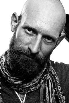 """felix in our studio, berlin."" : Bald Men of Style Bad Beards, Bald Men With Beards, Bald With Beard, Great Beards, Full Beard, Awesome Beards, Bald Head Man, Bald Man, Sexy Beard"