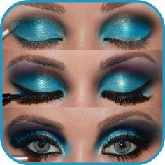 awesome Eye Make Up Step by Step