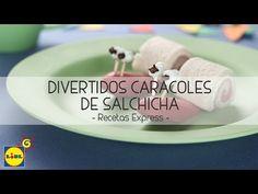 Divertidos Caracoles De Salchicha - Recetas Express - YouTube