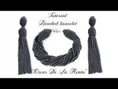 #МК - Браслет из бисера в стиле Оскар | #Tutorial - Bead bracelet in the style of Oscar - YouTube